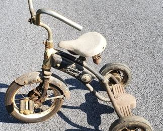 Rare Hopalong Cassidy tricycle