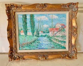 "$595; John Clymer (British) original art. 17""H x 21.5""W"