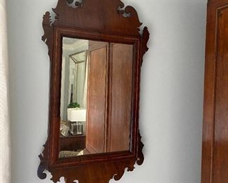 Antique Chippendale mirror