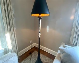Stan Smokler hand wrought  iron floor lamp
