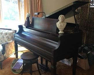 Amipico Baby Grand Piano-also is a player piano with rolls
