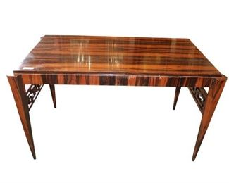 Stunning Rosewood Table in the manner ofEmile Jacques Ruhlmann.