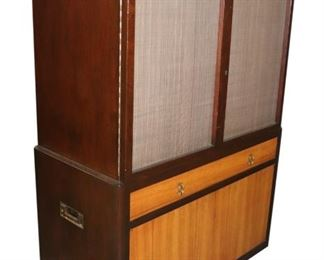 Rare Edward Wormley for Dunbar bar cabinet.  1957 from the Hemisphere collection.