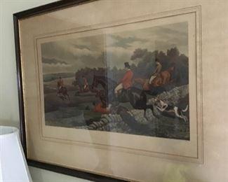 Hunt Scene Prints
