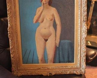 Fabulous Original Oil Painting Nude