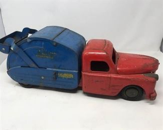Vintage Structo Toy Number 7 Utility Truck