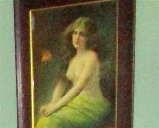 Elegant Victorian era nude