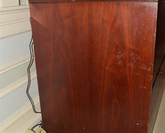 Two Drawer File Cabinet - Side View