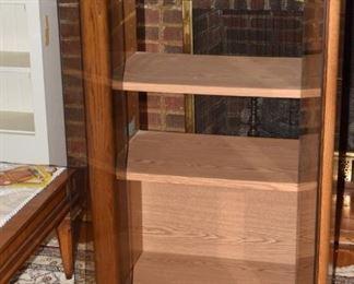 24. LR 3 shelf media cabinet