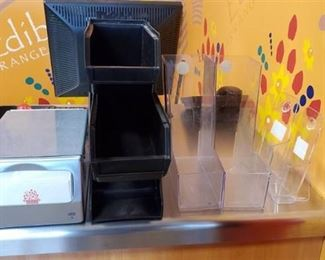 Plastic Display Holders, Napkin Holder