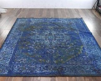 8X10' Giza Green & Blue Area Rug