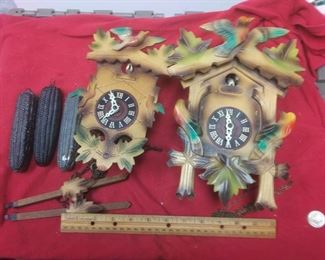 https://www.ebay.com/itm/114403173853LX3005 PAIR OF VINTAGE GERMAN  WOODEN COO COO CLOCKS FOR REPAIR OR PARTSAuction Starts 09/16/2020 After 6 PM