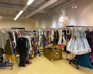 Huge TV Production Wardrobe Sale. Proceeds from this sale go to Dream Center Church to raise money for their Virtual Learning Center to provide a space for children to learn with the help of tutors during Covid-19.