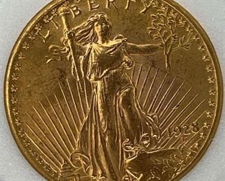 1928 $20 US Gold St. Gaudens NCI MS63/63