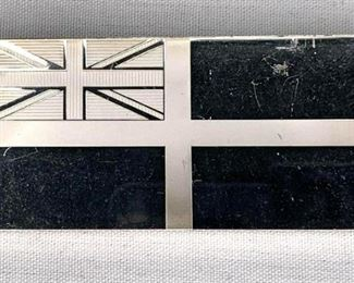 RCN White Ensign Flag 85.5 Silver Bar