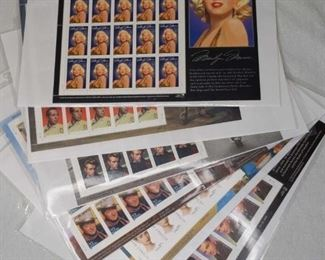 Ledgends of Hollywood Stamps