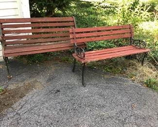 Cast Wood Park Benches