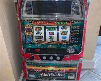 Slot machine - it works!! Price $450