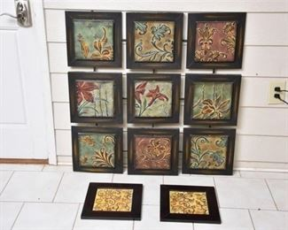 10. Decorative Painted Metal panels