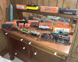 Vintage Trains and Buffet