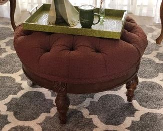 PUT YOUR FEET UP ON THIS LOVELY OTTOMAN !