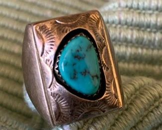 203 Sadie Randolph Navajo Ring
