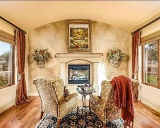 Sitting room in master