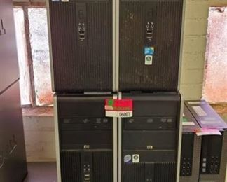 (4) HP Computer Towers