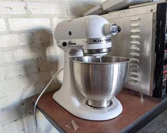 Kitchen Aide Mixer K45SSWH