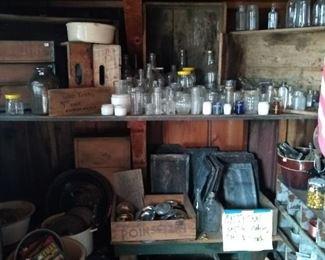 Pop crates glass bottles