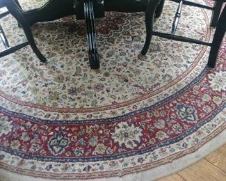 8' Round rug