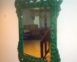 Custom made wall mirror