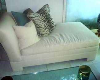 One of two day beds.