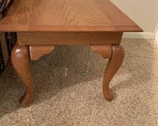 #19	Rectangle Oak End Table   20x30x16	 $75.00 	 call 256-603-4198