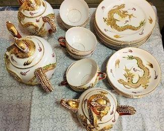 beautiful tea set from china