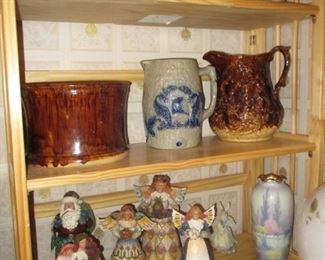 pottery & Jim shore