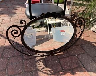 Hand Wrought mirror