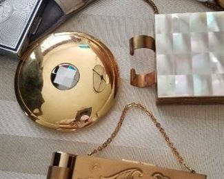 Vintage mini purses and compacts