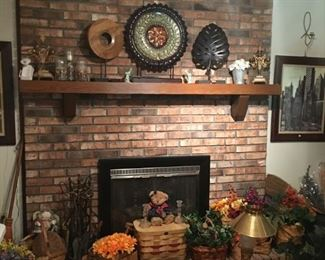 Home decor accents, Pittsburg basket collection, floral picks