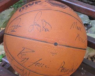 Boston Celtics Autographed Basketball