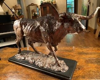 "Tim Shinabarger Bronze Sculpture""Moving Out"" #37/40"