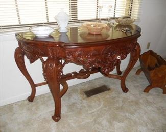 Large Carved Table