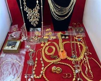 Metallic Costume Jewelry Collection