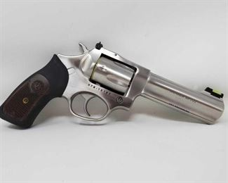 """870  Ruger SP101 .357 MAG Revolver, NO CA BUYERS Serial Number: 578-15185 Barrel Length: 4.25""""  NO CA BUYERS! Out of state only!  $25 out of state shipping for a single handgun purchase with out insurance. Insurance cost varies by purchase amount. Shipping cost for multiple handguns or with rifles will also vary."""