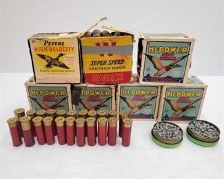 1160  Approx 500 Rounds Of Pellets, Approx 178 Rounds Of 12ga, And Approx 18 Rounds Of 16ga Approx 500 Rounds Of Pellets, Approx 178 Rounds Of 12ga, And Approx 18 Rounds Of 16ga