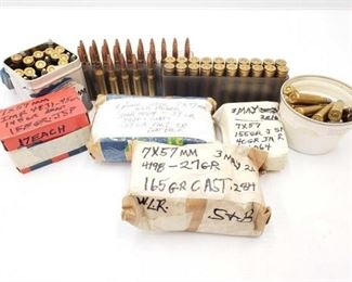1226  Approx 148 Rounds Of 7mm Approx 148 Rounds Of 7mm