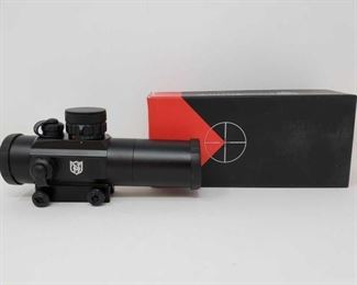 1304  New In Box Nikko Stirling Red Dot Sight Magnification: 1×30