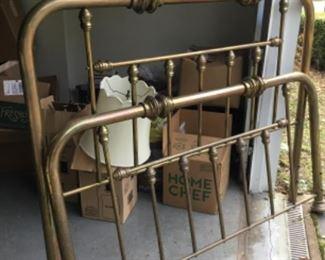 Brass bed $495.00