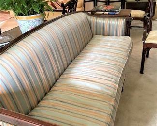 Exceptional antique sofa