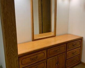 $80.00...... Dresser with Mirror (J578)